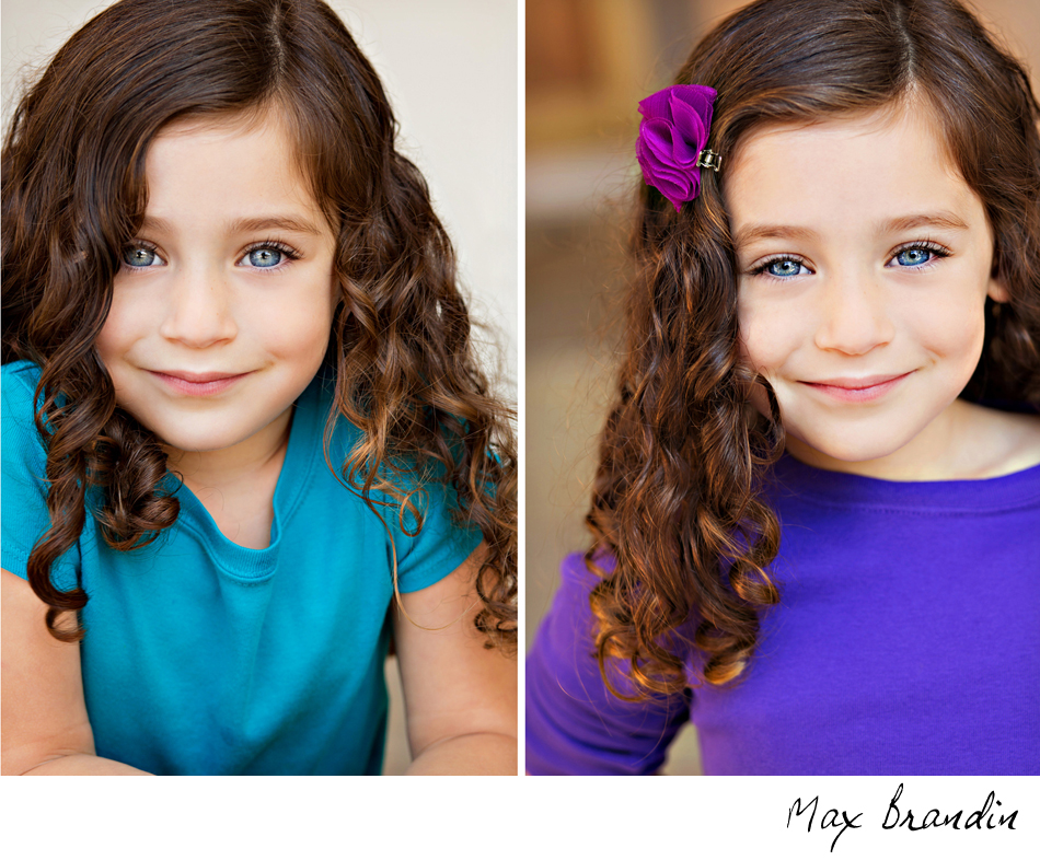 childrens headshots Thousand Oaks