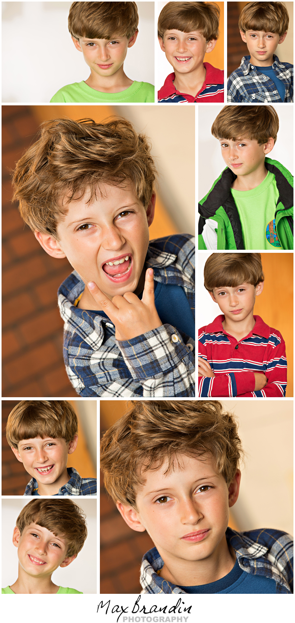 Benjamin Kids Headshots Los Angeles